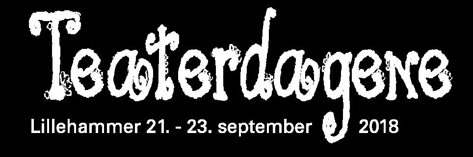 Teaterdagene 2018