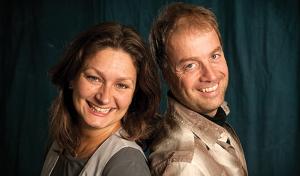 Helena Klarén og Henrik Slåen