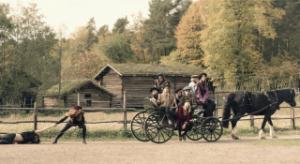 """""""Fjerdeklasses produksjoner"""" spiller Shakespeares berømte teaterstykke """"En Midtsommernattsdrøm"""". Foto: Fredrik Arff."""