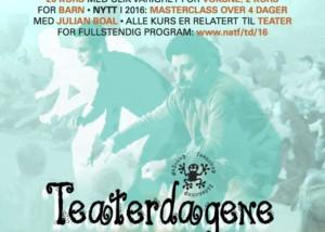 Kurs Teaterdagene 2016
