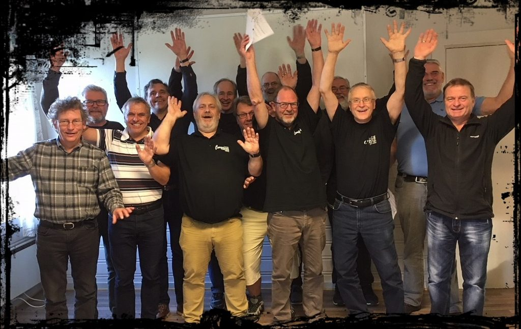 Trass(ige) herrer fra Grimstad nye medlemmer
