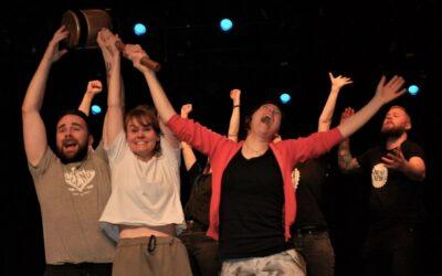 Trønderne gjøglet og sang seg til teatersport-gull